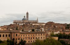Free View On Siena City Royalty Free Stock Images - 31082129