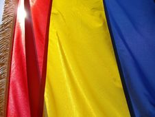 Free Flag Of Romania Stock Photo - 31083460