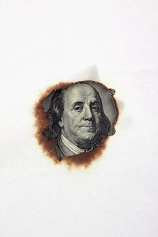 Free Close Up Of Dollar Bill Royalty Free Stock Photo - 31089875