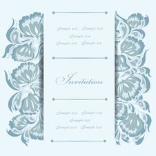Free Invitation Card Royalty Free Stock Photos - 31099448