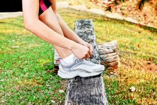 Free Exercising In The Park Royalty Free Stock Photo - 31099765