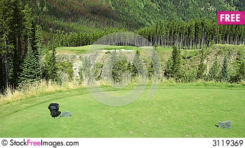 Free Golf Course Royalty Free Stock Images - 3119369