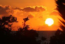 Bright Sunrise Royalty Free Stock Image