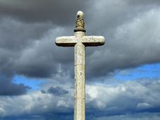 Free Stone Crucifix Stock Photos - 3111313