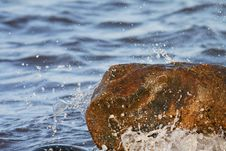 Free Water And Rocks. Stock Images - 3117814