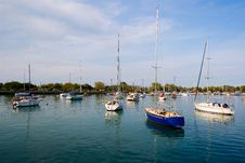 Free Boats In Bay Stock Images - 3119974