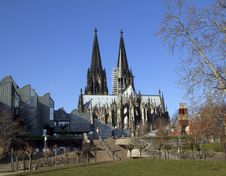 Cologne Cathedral. Germany. Royalty Free Stock Image