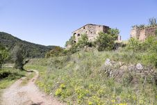 Free Traditional Farm House In Catalonia Royalty Free Stock Photos - 31101458