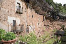 Cave House In Mura . Stock Images