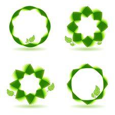 Ecologic Set Royalty Free Stock Photo