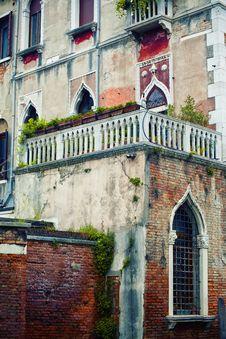 Venetian House Royalty Free Stock Photography