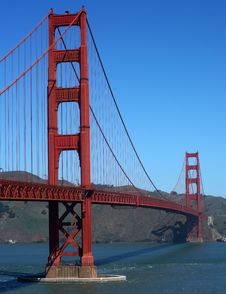 Free Golden Gate Bridge Royalty Free Stock Image - 31105226