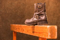 Free Used Old Fashioned Boot Royalty Free Stock Images - 31116149