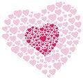 Free Heart Shapes Royalty Free Stock Photography - 31116467