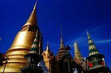 Free Pagoda In Thailand Royalty Free Stock Image - 31118676