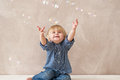 Free Kid With Soap Bubbles Stock Photos - 31124343