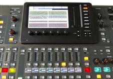 Free Digital Audio Mixer Stock Photo - 31125760