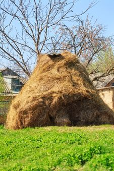 Free Dry Haystack Stock Image - 31127681