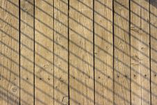 Free Planks With Skew Shadow Stock Photos - 31128083