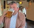 Free Man Drinking Beer Royalty Free Stock Photos - 31130098