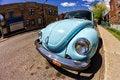 Free Vintage Blue VW Beetle Stock Images - 31138154
