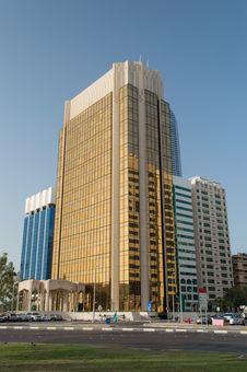 Skyscraper In Abu Dhabi Stock Photography