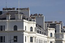 Free Rows Of Chimneys On Dover Sea Front Royalty Free Stock Image - 31132886