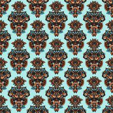 Free Seamless Ethnic Ornament Royalty Free Stock Photo - 31133305