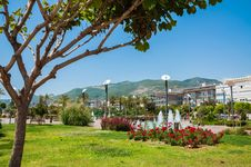 Free Park And Hotels Stock Photos - 31139003