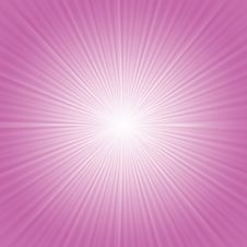 Pink Rays Background Royalty Free Stock Photography