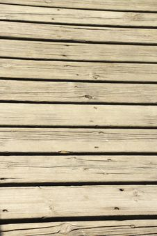Free Wooden Deck. Royalty Free Stock Images - 31144889