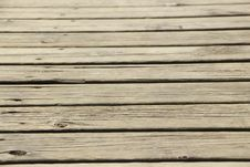 Free Wooden Deck. Royalty Free Stock Image - 31145336