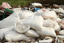 Free Industrial Garbage Bags Stock Photos - 31148063