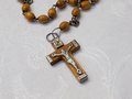 Free Old Rosary With Wooden Beads, Detail, 2 Royalty Free Stock Photo - 31151715