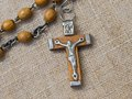 Free Old Rosary With Wooden Beads, Detail Royalty Free Stock Photos - 31151748