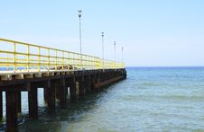 Free Pier At Baltic Sea Royalty Free Stock Photo - 31152915