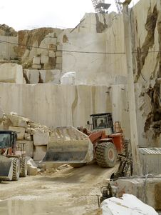 Free Marble Quarry Stock Photography - 31153932