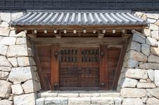 Free Japanese Castle Gate Stock Photography - 31158222