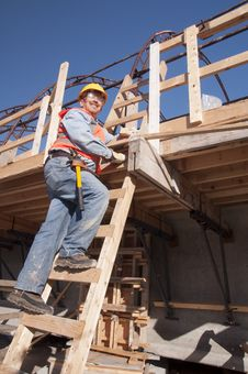 Free Construction Worker Royalty Free Stock Photography - 31158527
