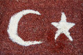 Free Turkish Flag Of Ground Chili Pepper Royalty Free Stock Images - 31161199