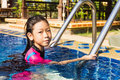 Free Girl Side Of Swimming Pool Stock Photos - 31164213