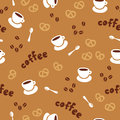 Free Coffee Seamless Pattern Royalty Free Stock Photos - 31166748