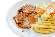 Free Steak Pork Stock Images - 31161194