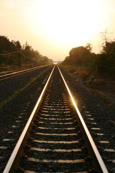 Free Iron Railway In Yogyakarta Stock Photo - 31168530