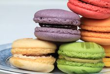 Free Macarons Stock Photography - 31170802
