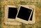 Free Vintage Shabby Background With Polaroid-frame Stock Photography - 31175542
