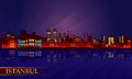 Free Istanbul City Night Skyline Stock Images - 31180904