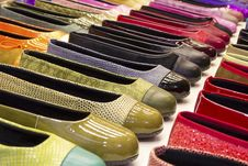 Free Shoes On Display Stock Image - 31185901
