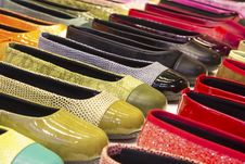 Free Shoes On Display Stock Image - 31186121