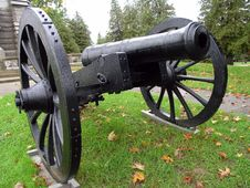 Free Black Cannon Stock Image - 3120361
